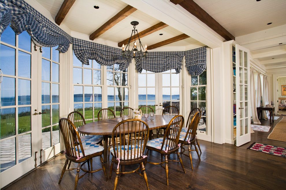 Wardley Real Estate for a Beach Style Dining Room with a Beams and Beans Bight Estate by Dennis Paige Real Estate