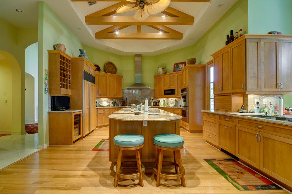 Wardley Real Estate for a Tropical Kitchen with a Recessed Lighting and Jupiter Real Estate Shoot   Admirals Cove by Michael Laurenzano Photography