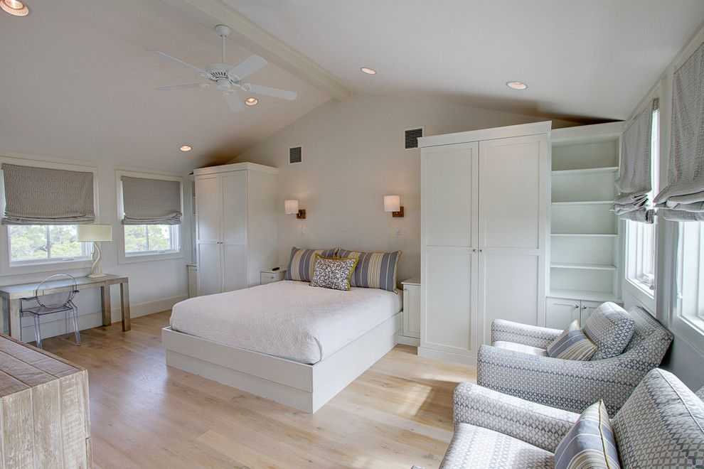 Watercolor Fl for a Beach Style Bedroom with a Contemporary Design and 22 Flatwood St, Watercolor, Fl by Borges Brooks Builders