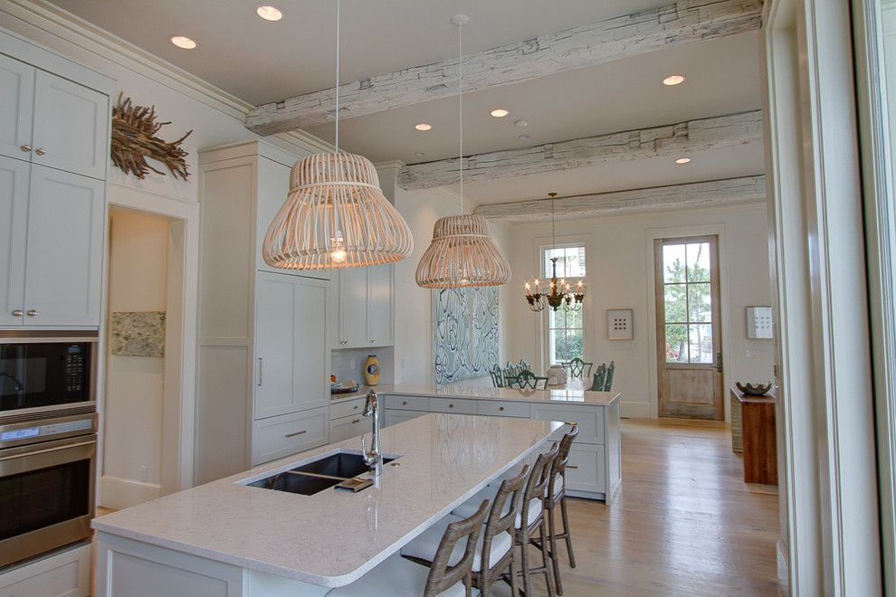 Watercolor Fl for a Beach Style Kitchen with a Borges Brooks Builders and 22 Flatwood St, Watercolor, Fl by Borges Brooks Builders