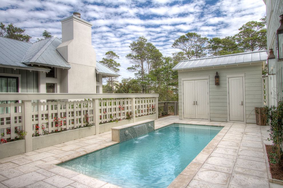 Watercolor Fl for a Beach Style Pool with a Watercolor Fl and 22 Flatwood St, Watercolor, Fl by Borges Brooks Builders