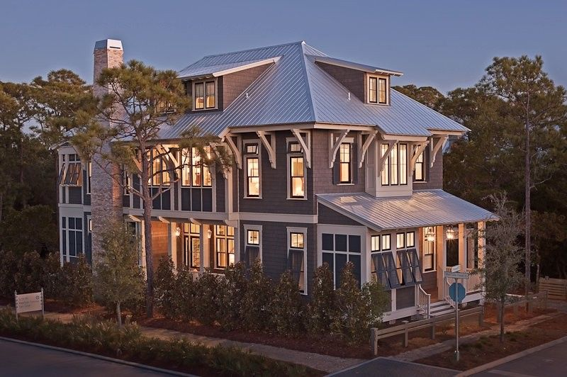 Watercolors Florida for a Traditional Exterior with a Traditional and Watercolor Florida Custom Home by Borges Brooks Builders