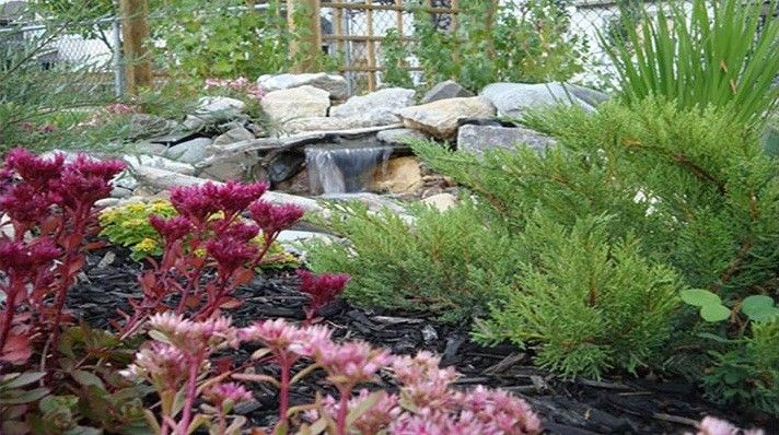 Waterscapes for a  Landscape with a Modern Landscape and Waterstone Landscaping Portfolio by Custom Stone & Waterscapes