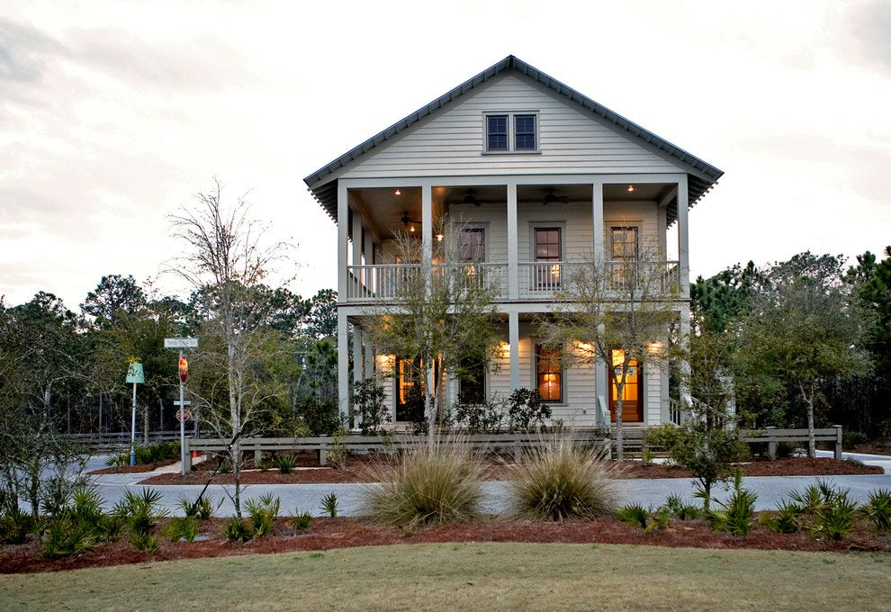Watersound Florida for a Beach Style Exterior with a Sandestin and Sandy Creek Lot 1 by Chancey Design