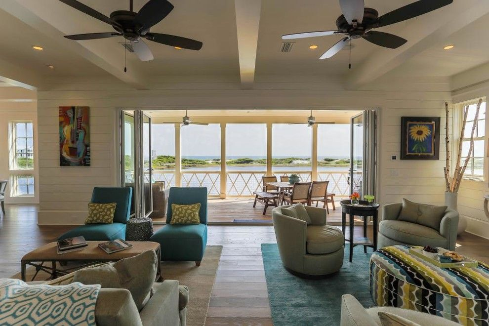 Watersound Florida for a Beach Style Living Room with a Gray Chairs and Watersound Residence by Studio a Architecture