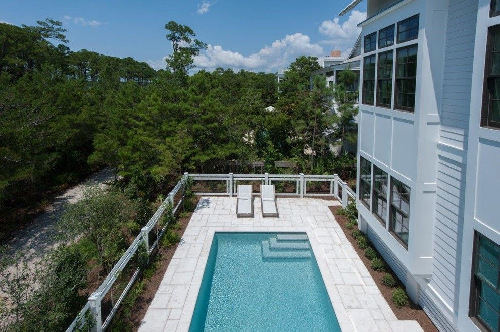 Watersound Florida for a Beach Style Pool with a Florida Cracker and 277 Western Lake by Chancey Design