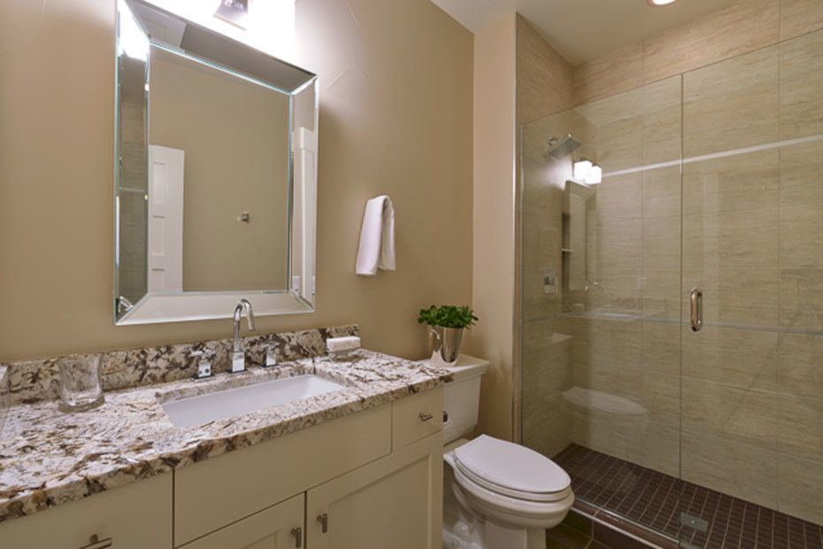 Waterworks Denver for a Traditional Bathroom with a Powder Room and Gaylord House by Pratt Designs