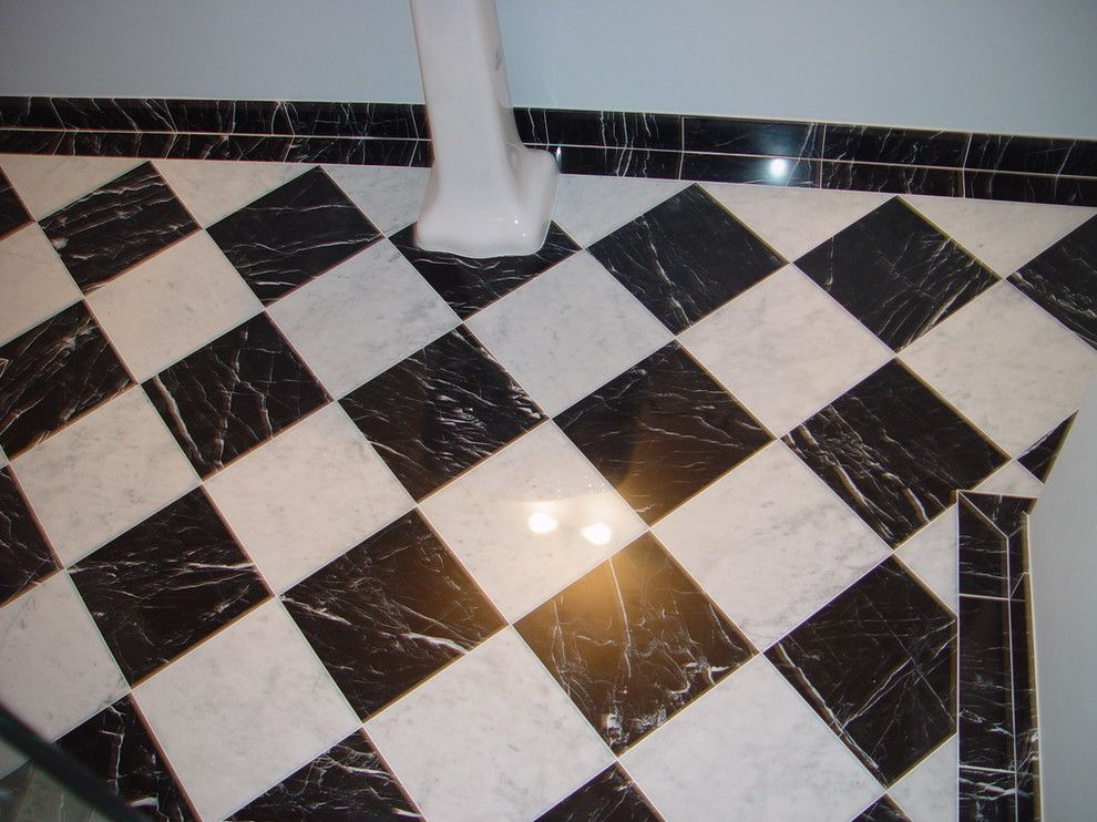 Waterworks Denver for a Traditional Bathroom with a Traditional and 1 by Knapp Tile and Marble
