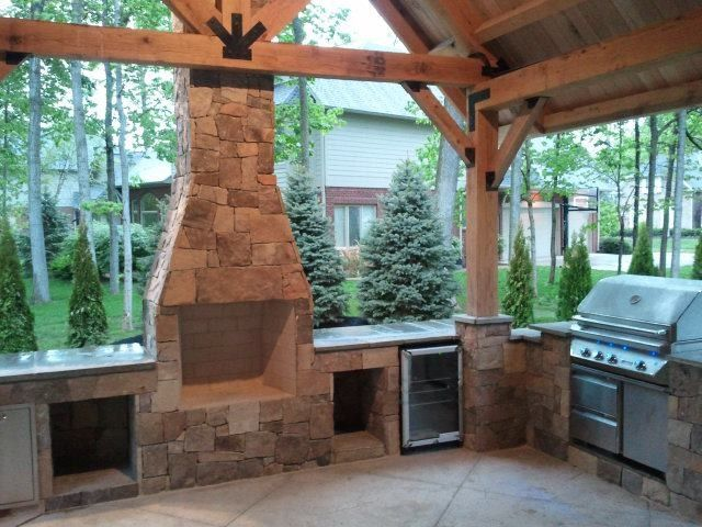 Weber Grill Indianapolis for a Contemporary Exterior with a Grill and Hardscape/Softscape by Above and Beyond Companies, Inc.