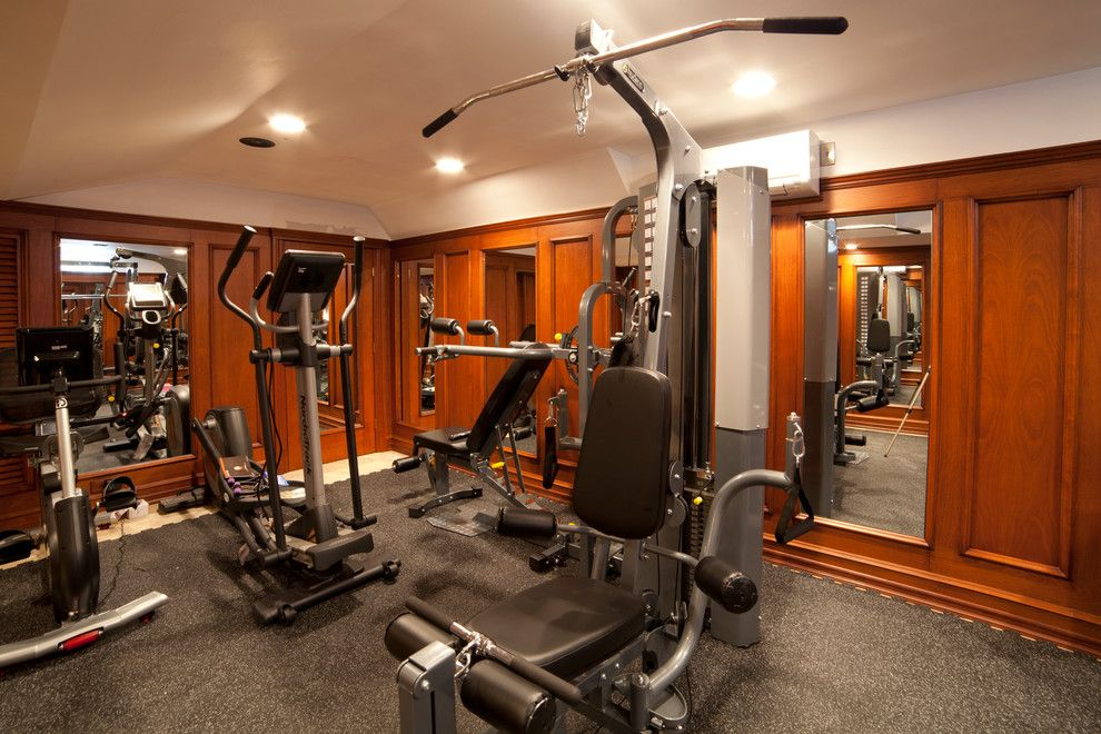 Weichert Nj for a Traditional Home Gym with a Gym Ny and Gym Ny by Wl Interiors