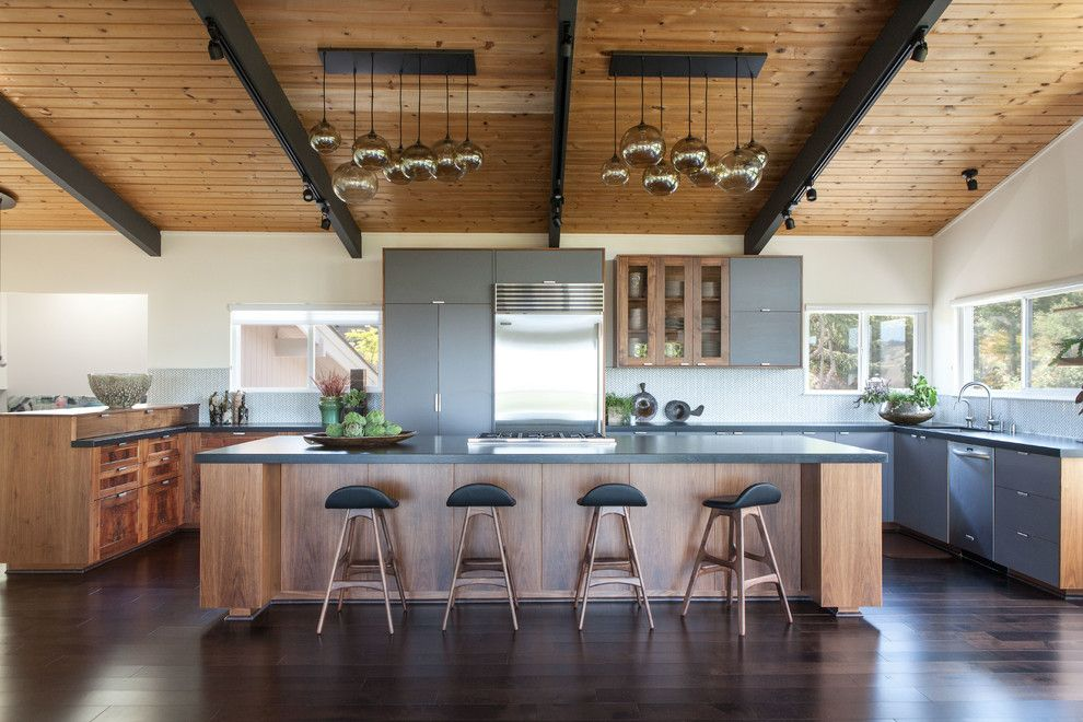 West Elm Chelsea for a Contemporary Kitchen with a Clean Lines and Modern Zen by Studio Shk