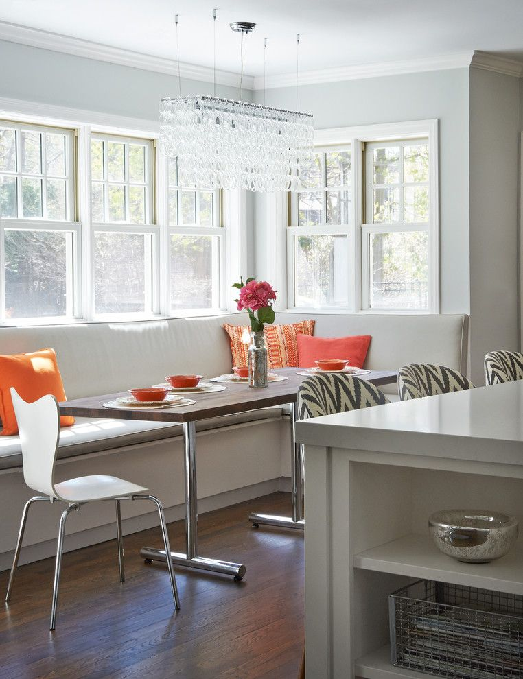 West Elm Chelsea for a Transitional Kitchen with a 48 Range and Greenhaven Road Rye Ny Shingle Style by Studio Dearborn