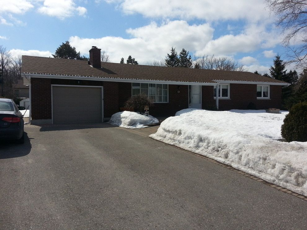 Westmore for a Contemporary Exterior with a Reno and Westmore Renovations Before and After by Kyle Roberts