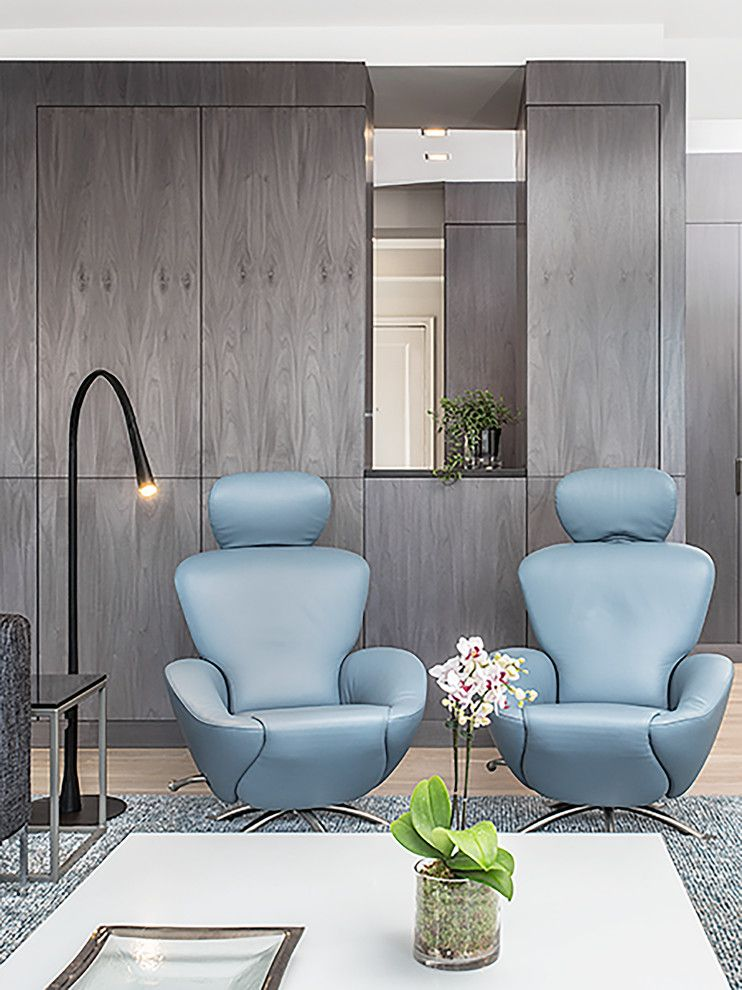 Westside Furniture for a Contemporary Living Room with a Architecture and Interiors and West 86th Street Apartment, New York, Ny by Billinkoff Architecture Pllc