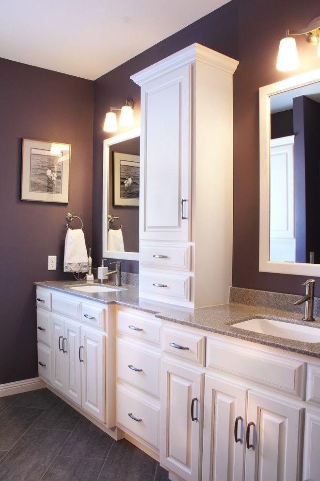 Westwind Homes for a Traditional Bathroom with a Granite Series Cultured Marble and Deer Haven by Westwind Woodworkers Inc.