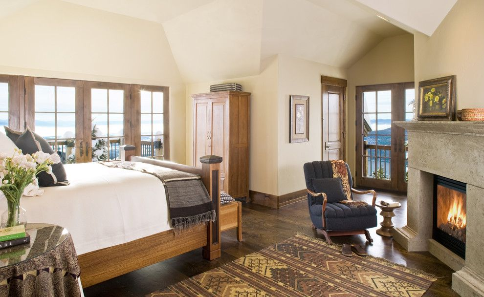 Wholesale Builders Supply for a Traditional Bedroom with a Glider and Mountain Chic by Bear Mountain Builders