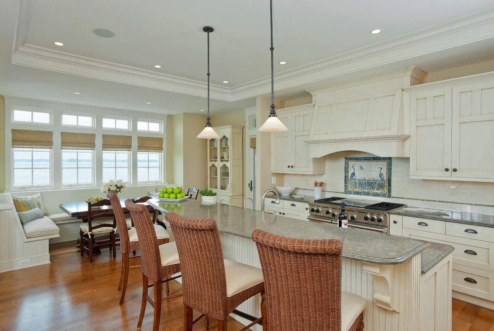 Wickenburg Ranch for a Beach Style Kitchen with a Crown Molding and Singer House by Direction One, Inc.