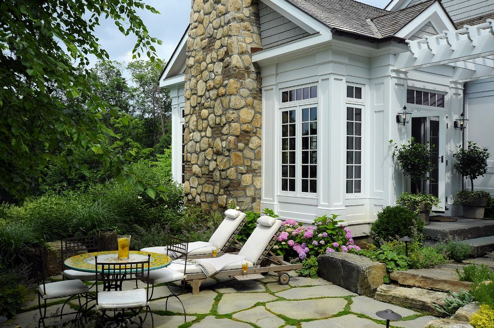 Wickenburg Ranch for a Traditional Patio with a Gray and White House Exterior and Farm to Table-Chappaqua NY by Legacy Construction Northeast LLC