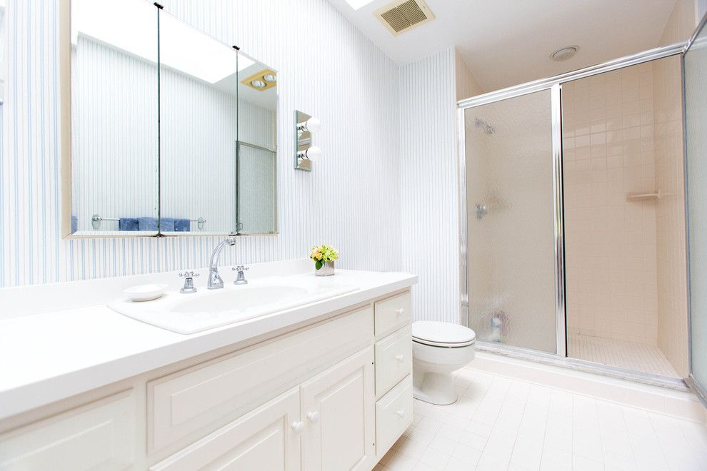 Winchester Ma Real Estate for a Mediterranean Bathroom with a Westonmarealestate and 24 Claypit Hill Road, Wayland, Ma by Amy Mizner, Benoit Mizner Simon & Co.