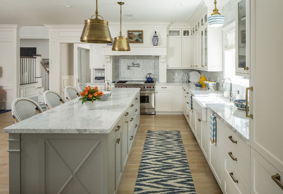 Windermere Country Club for a Transitional Kitchen with a Brass Lights and Country Club Ii by Fox Group Construction