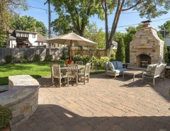 Windermere Country Club for a Transitional Patio with a Outdoor Fireplace and Country Club Project Remodel by Great Neighborhood Homes