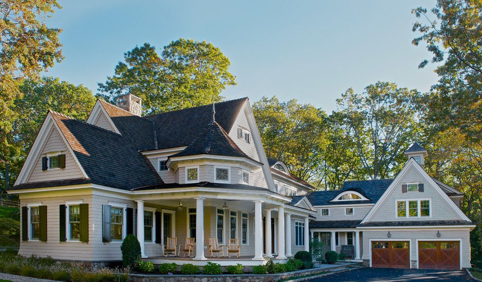 Windermere Country Club for a Victorian Exterior with a Wood Garage Doors and Lone Tree Farm by Country Club Homes