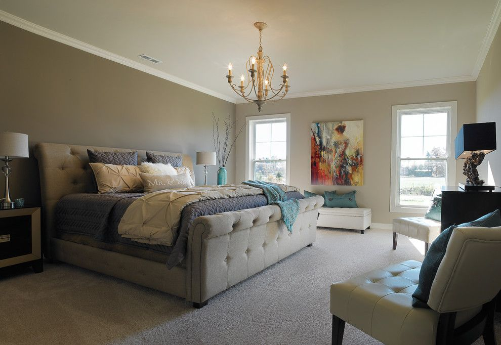 Windham Auto Sales for a Transitional Bedroom with a Hayman Bay and Windham Hill, Little Rock Craftsman Model Home by Jagoe Homes Inc