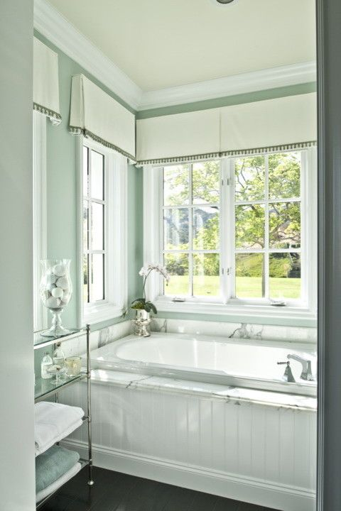 Window Depot Tucson for a Traditional Bathroom with a Aqua Bathroom and Master Bathroom by Alexandra Rae Design