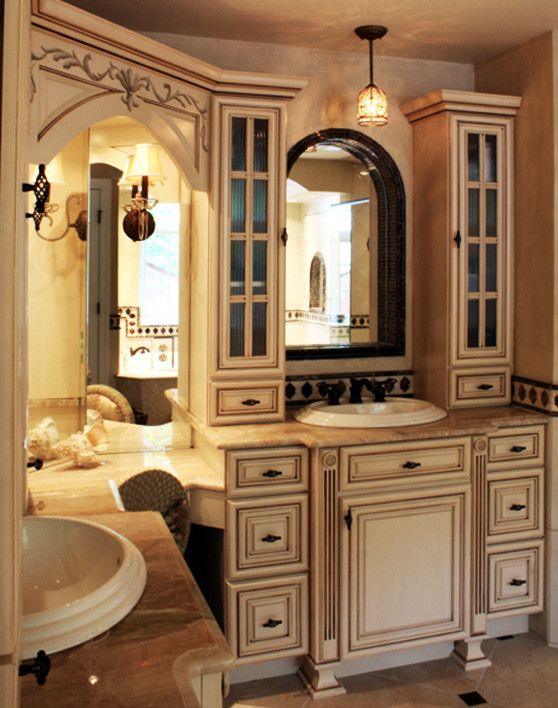 Wine and Design Richmond Va for a Traditional Bathroom with a Decorative Paint and Bathroom Design   Midlothian, Va by Kitchensetc