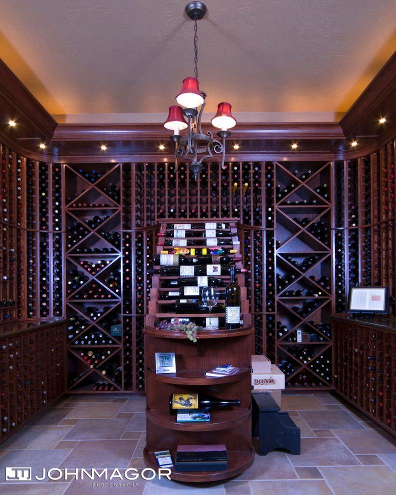 Wine and Design Richmond Va for a Traditional Wine Cellar with a Wine and Wine, Wine, Wine! by John Magor Photography