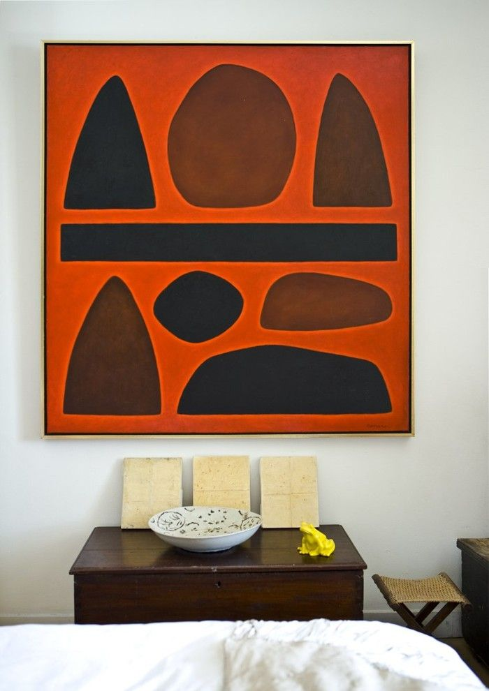 Winslow Homer Artwork for a Contemporary Spaces with a Contemporary Artwork and Paddington Terrace Design, by Kathy Mckinnon Interiors
