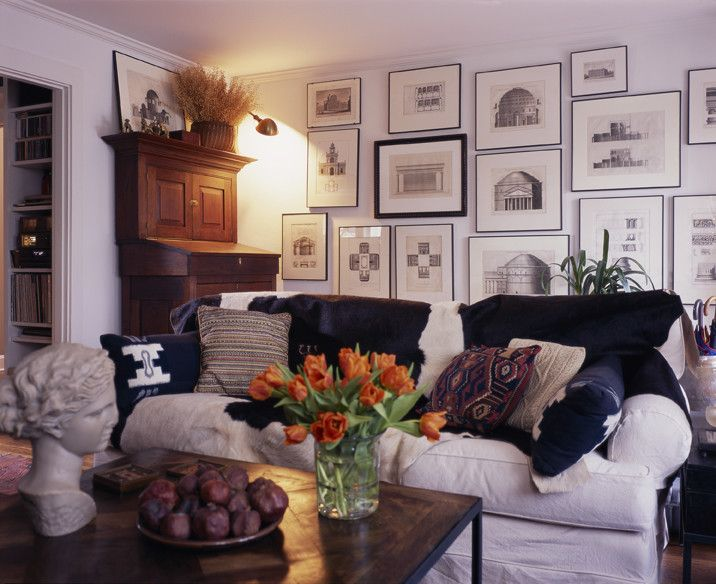 Winslow Homer Artwork for a Craftsman Living Room with a Traditional and Montlake by Bosworth Hoedemaker