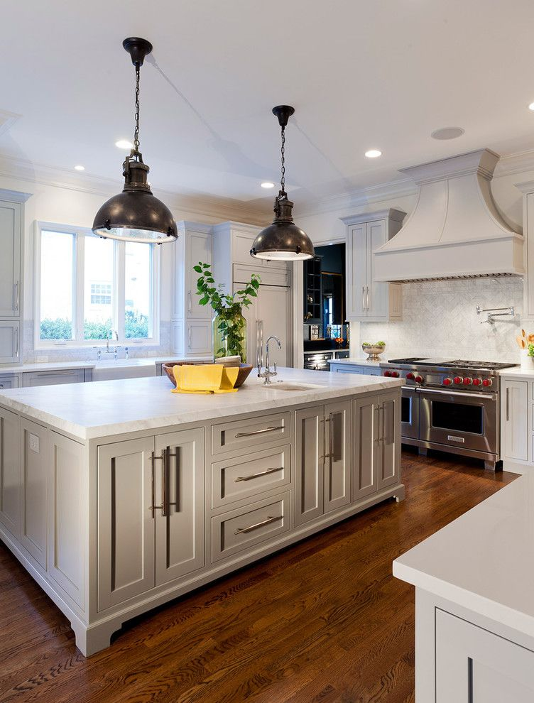 Wolseley Industrial Group for a Traditional Kitchen with a Wolf Appliances and Urban Building Group: Charlotte, Nc by Jim Schmid Photography