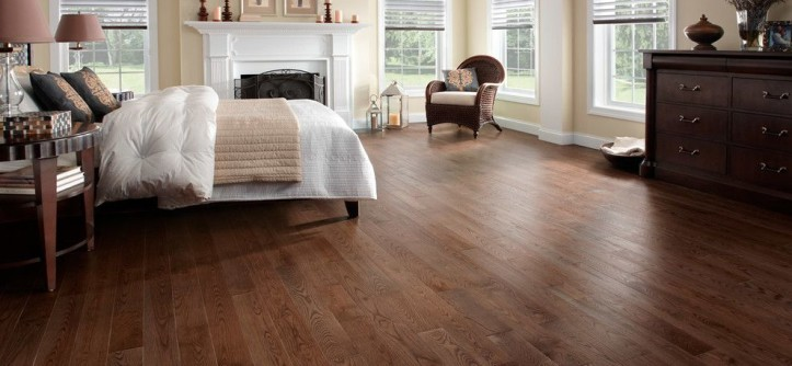 Wood Lathe Projects for a Traditional Bedroom with a Preverco and Hardwood Flooring by Demar