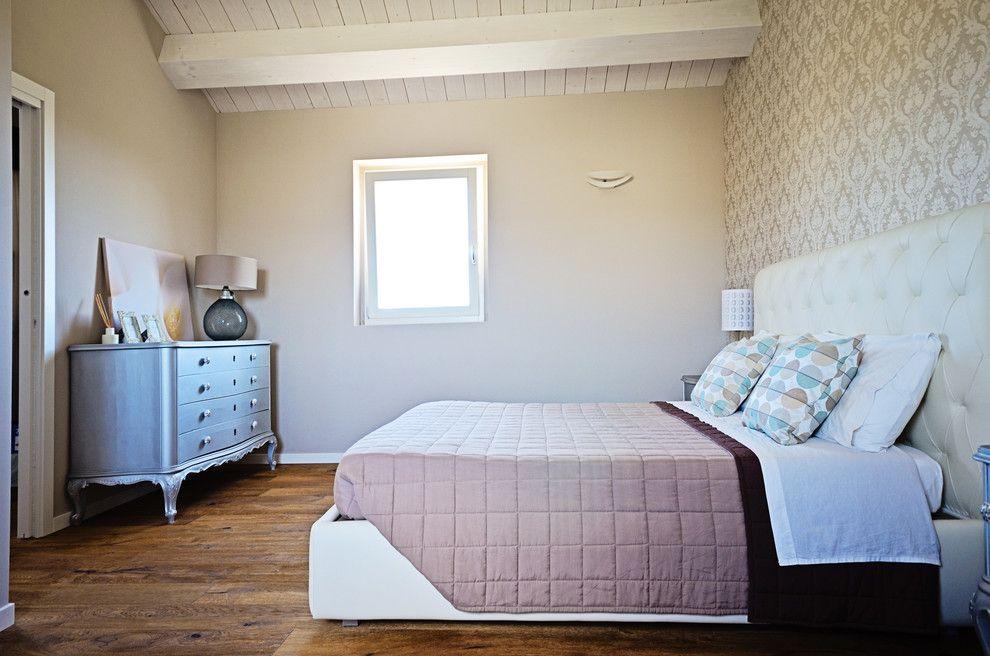 Woodco for a Farmhouse Bedroom with a Legno and Ristrutturazione Antico Borgo Con Parquet by Woodco