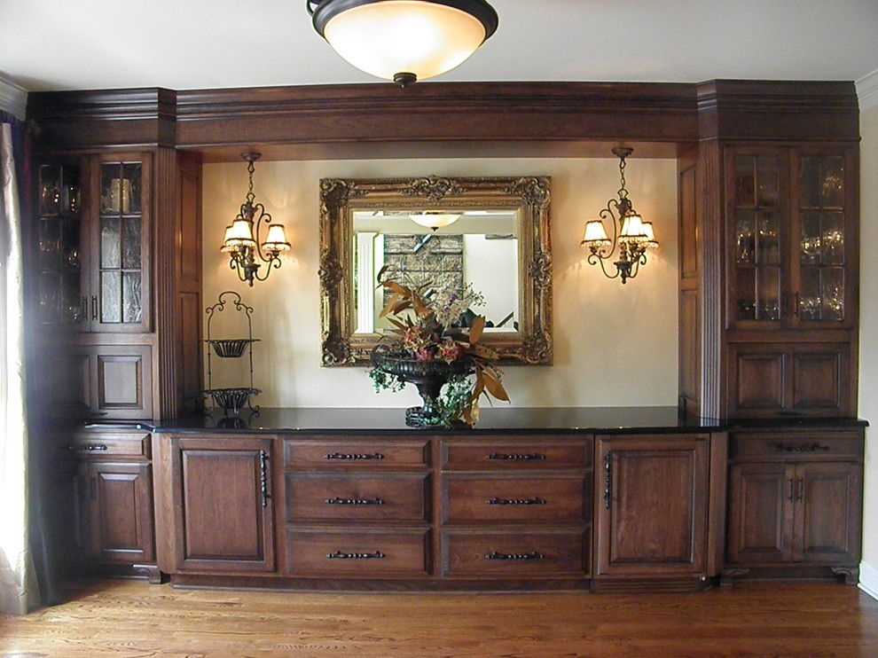 Woodcraft Furniture for a  Spaces with a Buffet Cabinet Furniture and Buffet by Seifert Woodcrafts, Inc.