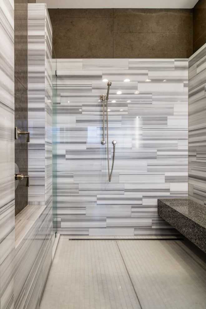 Woodfield Country Club for a Transitional Bathroom with a Caesarstone and Contemporary Tuscan Home Remodel in Enclave at Woodfield Country Club by Nmb Custom Homes and Renovations, Llc