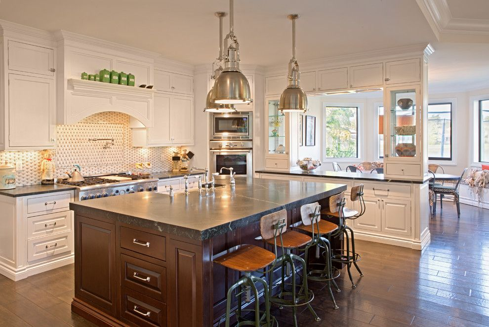Woodfield Country Club for a Transitional Kitchen with a Transitional and Hamptons Woodfield Country Club Addition and Remodel by Nmb Custom Homes and Renovations, Llc