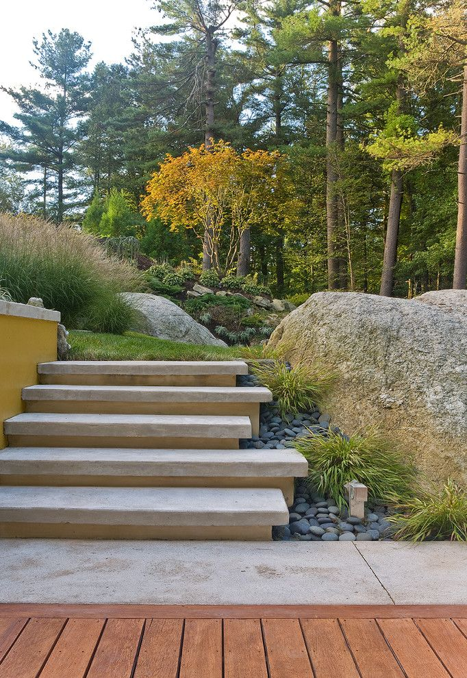 Woodland Hills Lexus for a Contemporary Landscape with a Lawn and Andover Pool by Sudbury Design Group