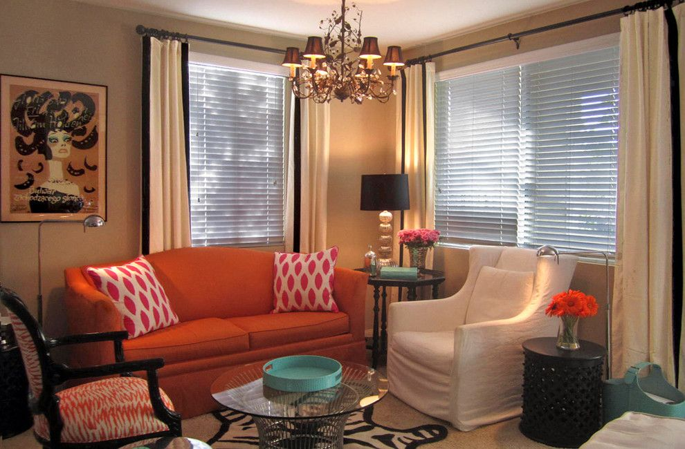 Woodland Hills Utah for a Eclectic Spaces with a Zebra Rug and Woodland Hills Living Room by Maison21