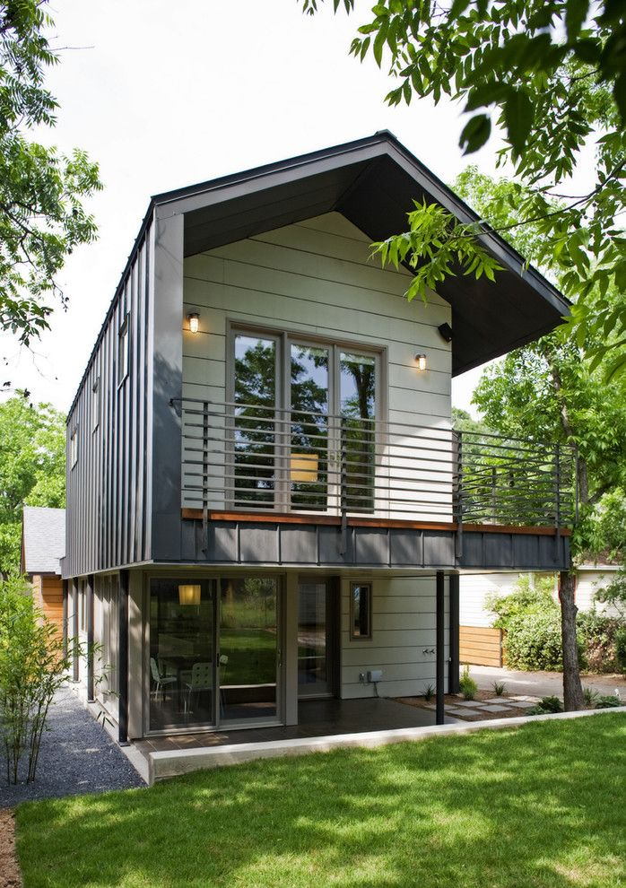 Woodmagazine for a Contemporary Exterior with a Handrail and Jewell Street Addition Eco Home Magazine: Merit Design Award 2010 by Webber + Studio, Architects