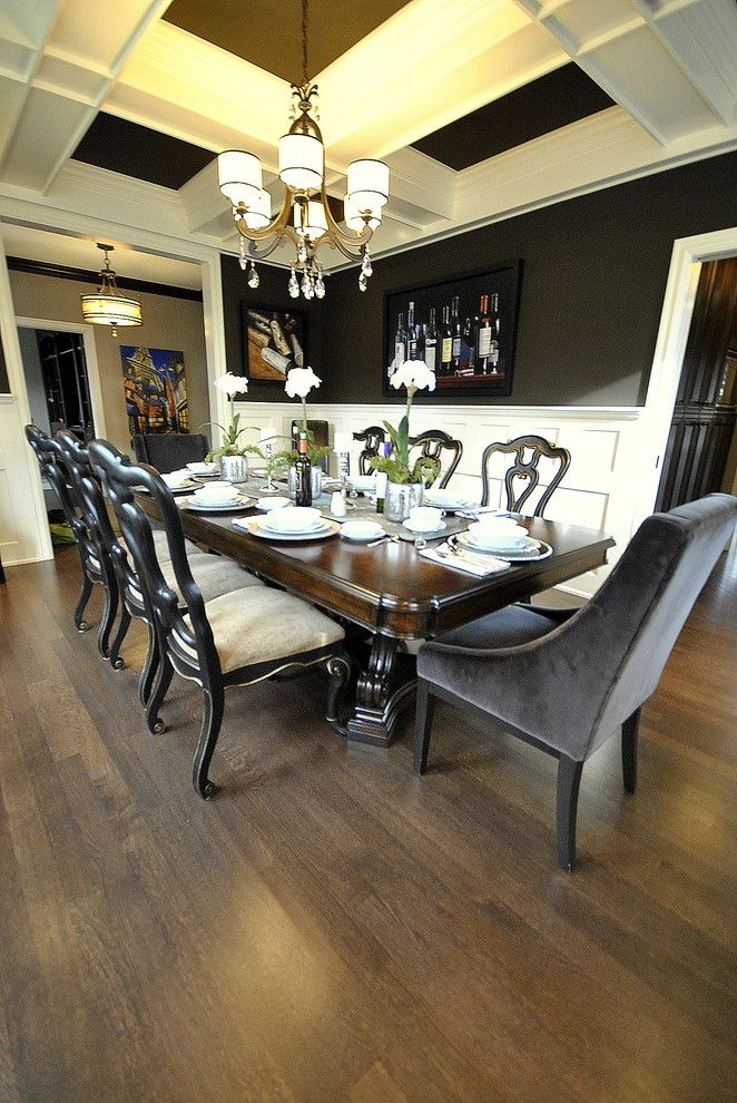 Woodmagazine for a Traditional Dining Room with a Interior Design and Dining Room Re Design in Edmonton, Ab for Magazine Photo Shoot by Revealing Assets   Home Staging Services