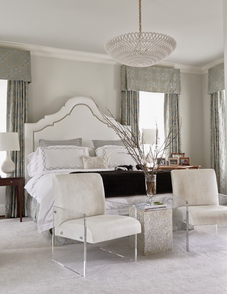 Woodmagazine for a Transitional Bedroom with a Elegant and Feature Homes by Home Design & Decor Magazine