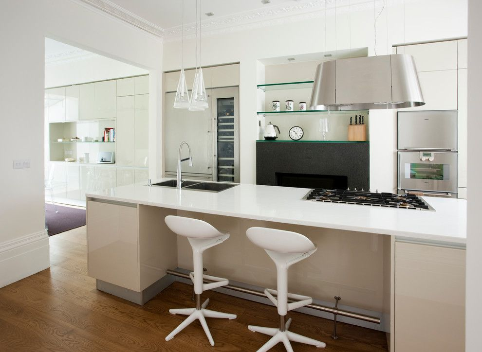 Www.coasterfurniture.com for a Contemporary Kitchen with a Kitchen Chairs and Drayton Gardens, London Uk by Galbiati Arreda