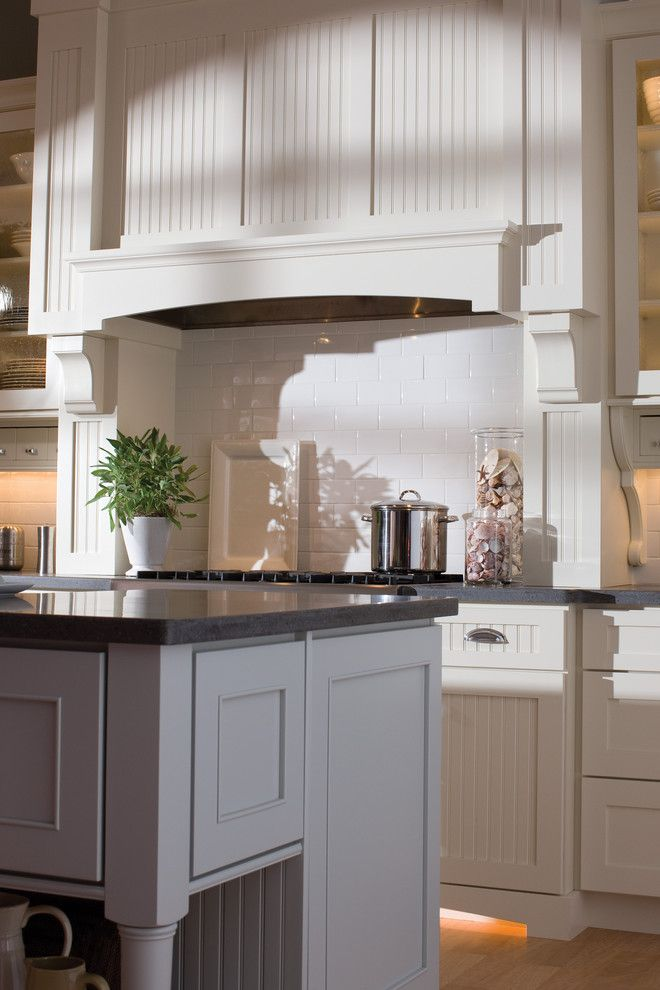 Www.coasterfurniture.com for a Eclectic Kitchen with a White Tulip and White Cottage Styled Kitchen by Dura Supreme Cabinetry
