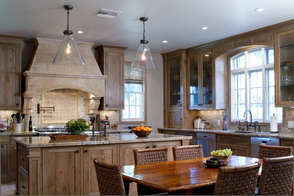 Www.coasterfurniture.com for a Traditional Kitchen with a Traditional and Charmean Neithart Interiors, Llc. by Charmean Neithart Interiors