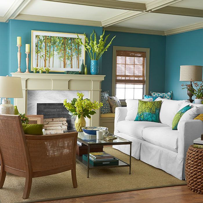Www.coasterfurniture.com for a Tropical Living Room with a Green with Blue Accents and Living Rooms by Lowe's Home Improvement