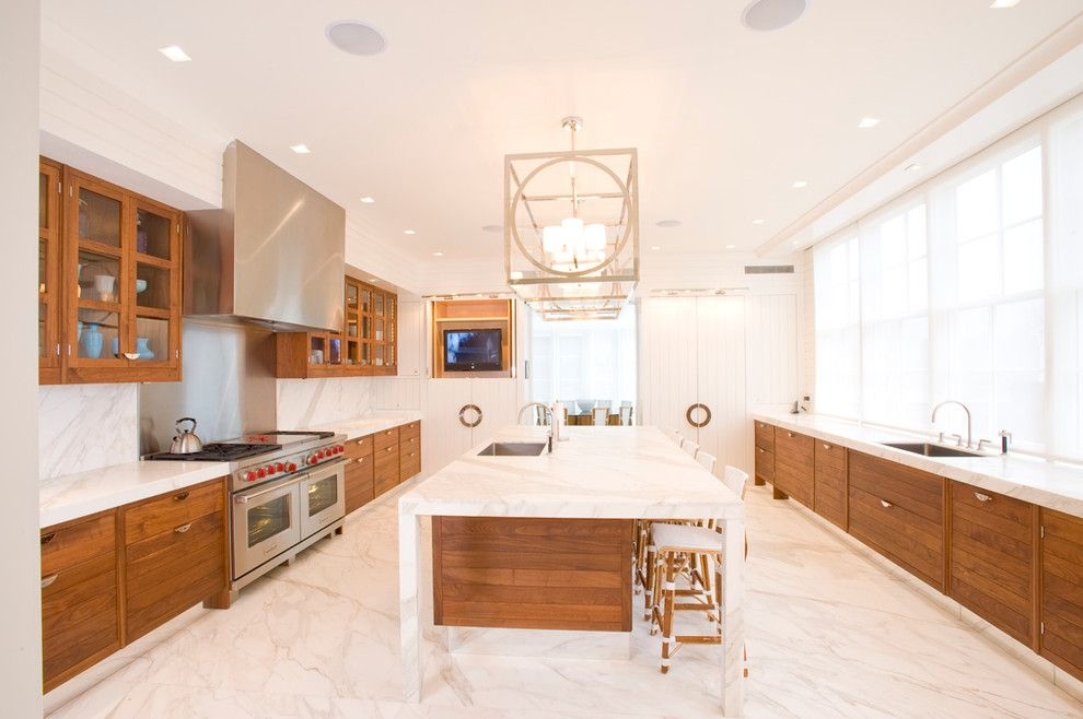 Www.esmas.com for a Contemporary Kitchen with a Wood Drawer and Crescendo Installed Systems by Crescendo Designs, Ltd.