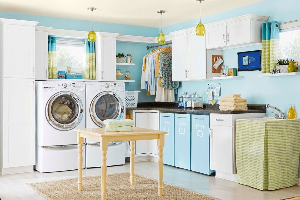 Www.esmas.com for a Transitional Laundry Room with a Organized Laundry Room and Indoor Spaces by Lowe's Home Improvement