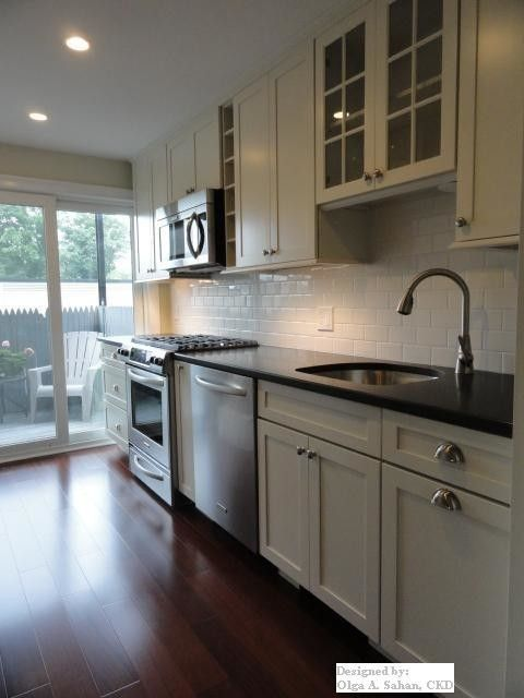 Www.raymourflanigan.com for a Traditional Kitchen with a 3x6 Subway Tile and Kitchen & Bath Remodel Boston Ma by Design Solution Group